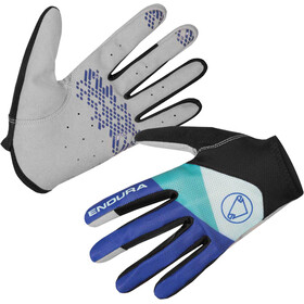 Endura Hummvee Lite Bike Gloves blue/black